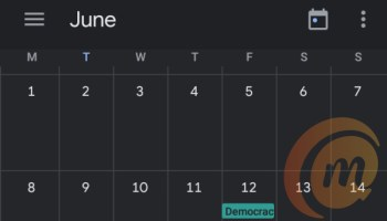 Best Planner apps for your android device, Google calendar dark mode
