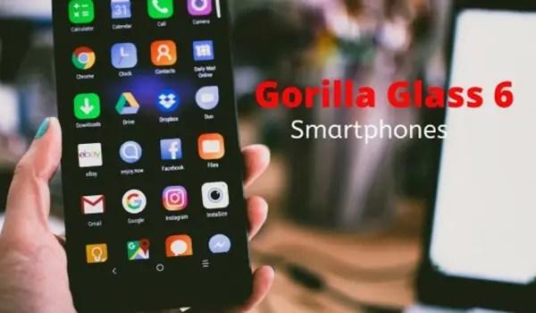 Why a Gorilla Glass 6 phone?