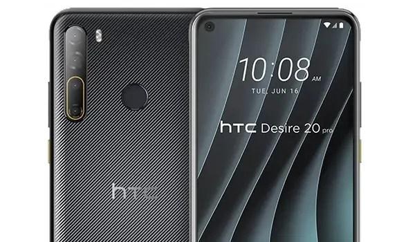 HTC Desire 20 Pro cameras