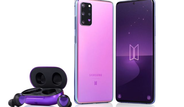 Samsung Galaxy S20+ BTS Edition Launched