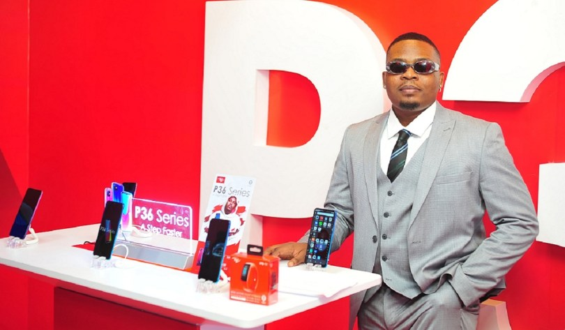 itel P36 and P36 Pro launch olamide