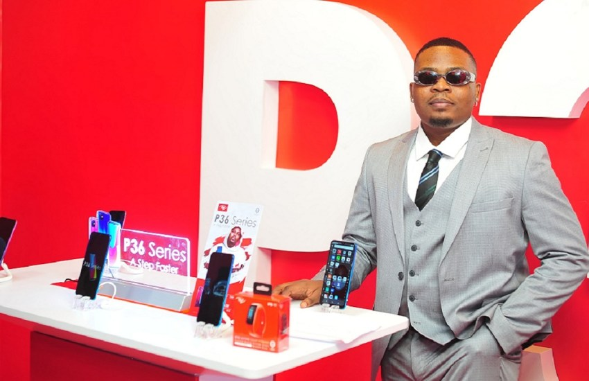 itel p36 series launch olamide
