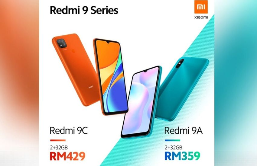 Redmi 9A and 9C Launched