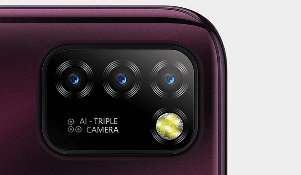 Infinix Hot 10 Lite AI triple camera