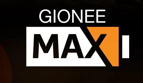 Gionee Max specs 5000mAh battery