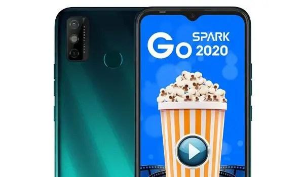 TECNO Spark Go 2020 cameras