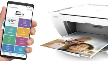 Connect your wireless printer to your laptop and phone with HP Smart app