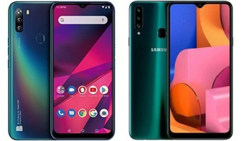 BLU G90 vs Samsung A20 comparison