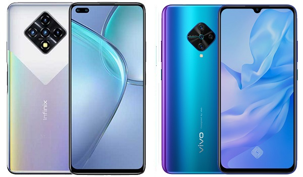 Infinix Zero 8 VS Vivo S1 Pro comparison