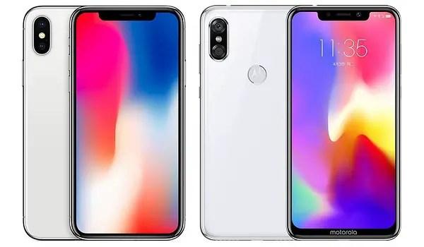 Motorola P30 is an iPhone clone