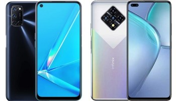 OPPO A92 vs Infinix Zero 8 comparison