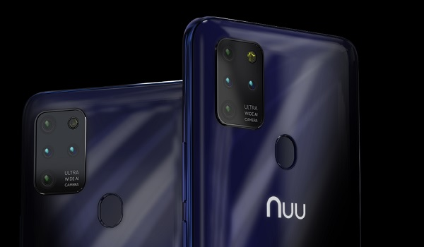 NUU Mobile G5 rear quad camera
