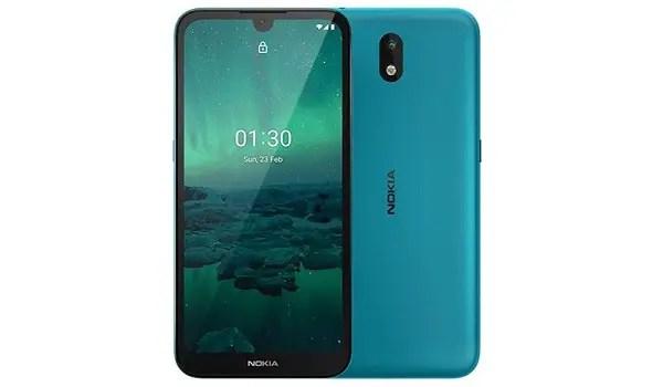 Nokia 1.3 Cyan