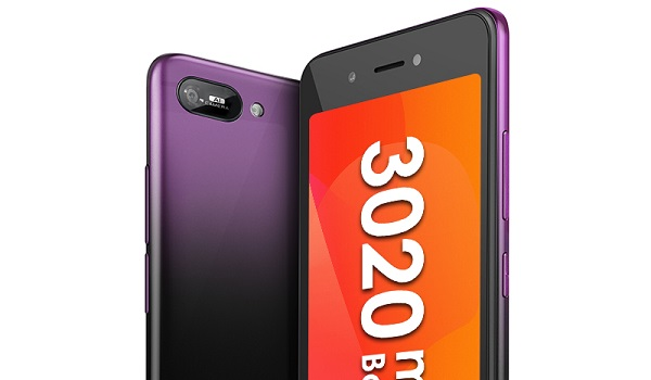 itel A25 Pro Purple