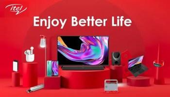 itel enjoy better life