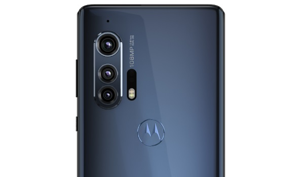 Motorola EDGE+ rear camera