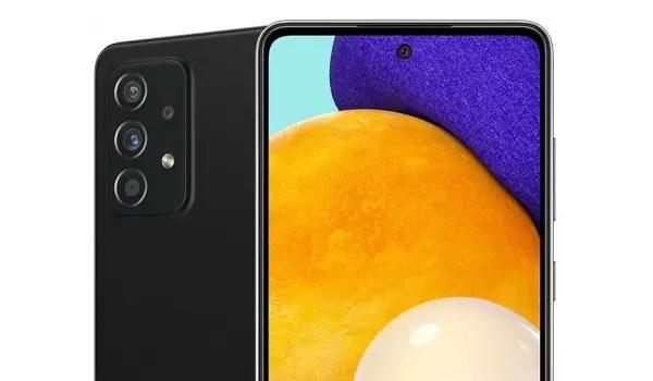 Samsung Galaxy A52 5G leaked render