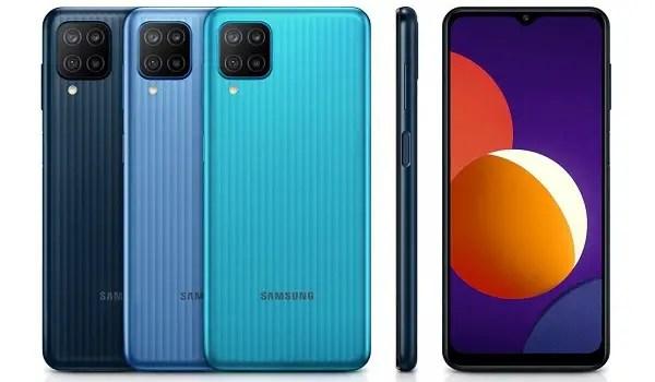 Samsung Galaxy M12 colours