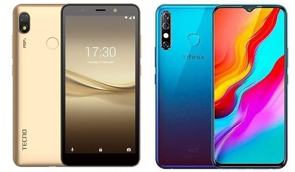 TECNO POP 3 vs Infinix Hot 8 comparison