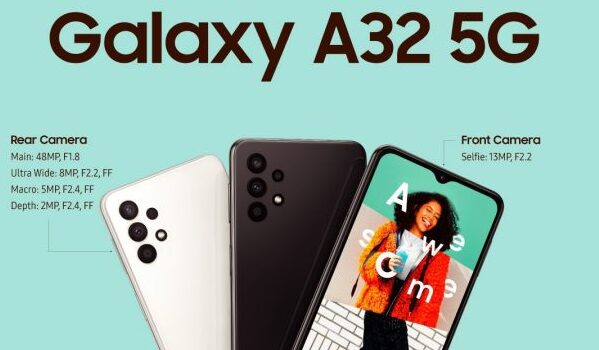 Samsung Galaxy A32 5G launched in Europe