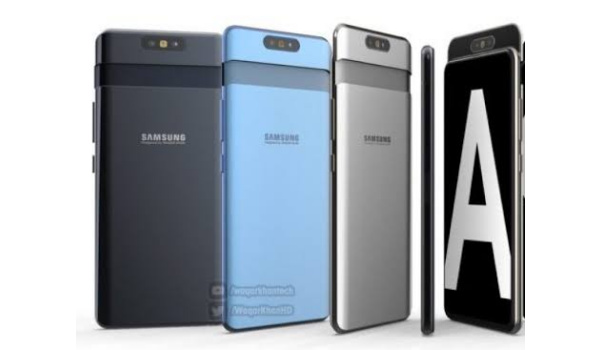 Samsung Galaxy A82, 2021 Android phone, flip-up camera. Specs, price, news, info.