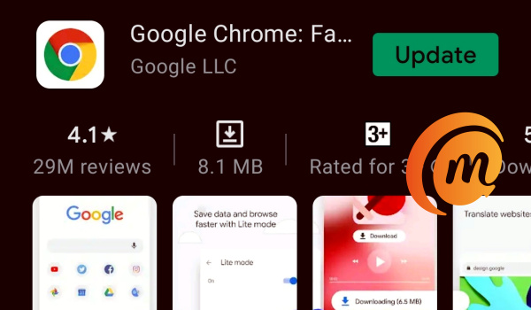 fix app crashes on Android with Google chrome