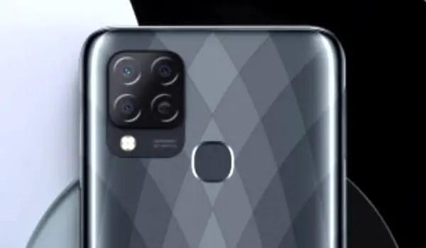 Infinix Hot 10S back camera fingerprint scanner