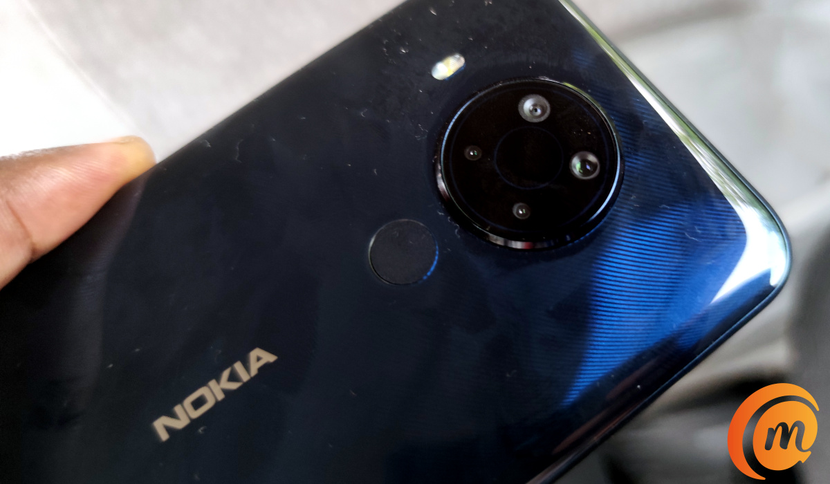 Nokia 5.4 quad camera with led flash