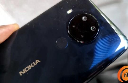 Nokia 5.4 quad camera with led flash
