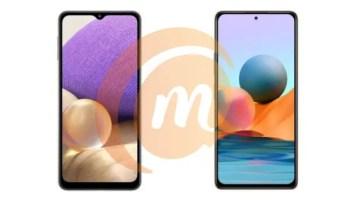 Samsung Galaxy A32 vs Xiaomi Redmi Note 10 Pro
