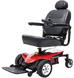 Pride Elite ES power wheelchair