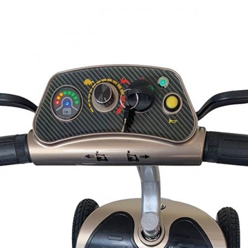 Kymco K Lite Scooter Controls