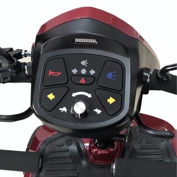 Kymco Komfy 8 Controls