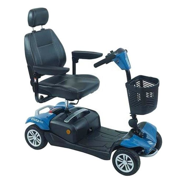 Rascal Victa mobility electric scooter blue