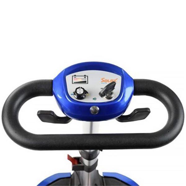 Smartie folding scooter tiller
