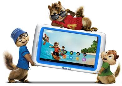 ARCHOS-Chipmunks-Child-Pad