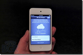 New iPod touch gets better screen and A5