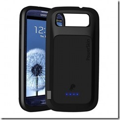 PowerSkin battery case for Galaxy S III