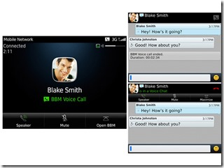 BlackBerry Messenger gets voice calls over Wi-Fi