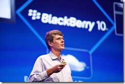 Rim did not forget about physical keyboards in BB10