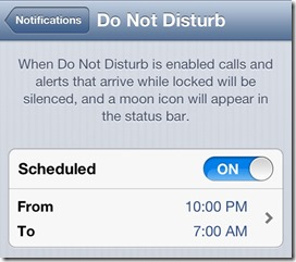 "Apple launches new ""Do Not Disturb"" commercial and matching bug"