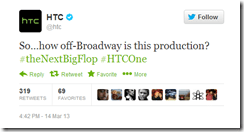 HTC throwing shots at Samsung and the Galaxy S4
