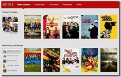 Netflix does Facebook