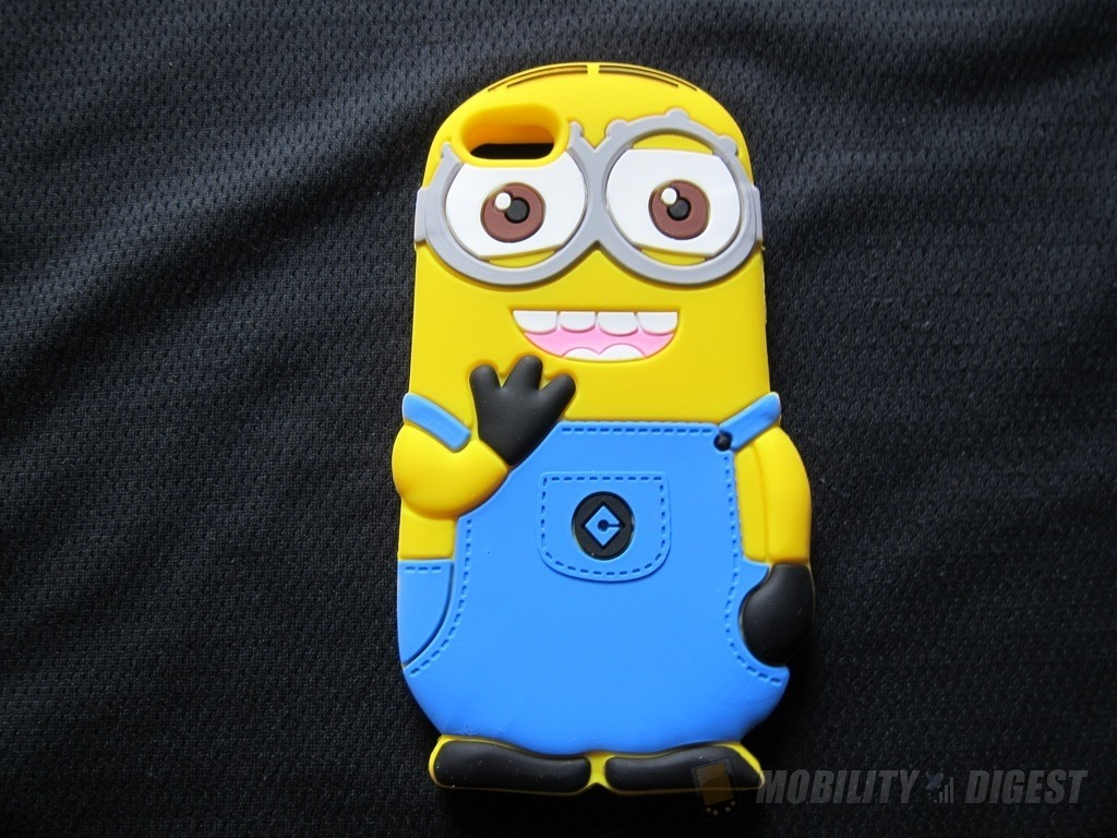 Minion Camera Case : Cute smile minions design silicone case for iphone 5 review