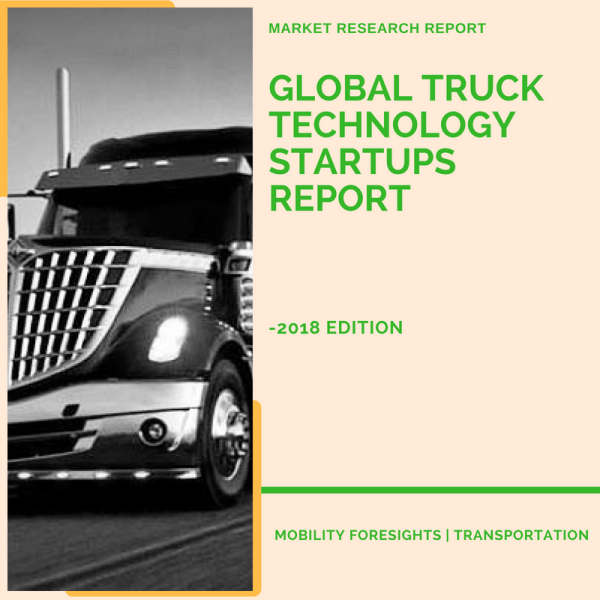 why the growth in funding of truck tech startups
