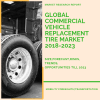 size of commercial vehicle replacement tire market