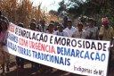 Mobilização Guarani Kaiowá, Mato Grosso do Sul. Foto: Ruy Sposati/Cimi