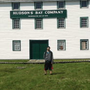 Mobilizers visiting the York Factory National Historic Site during their Canada summer jobs placements.