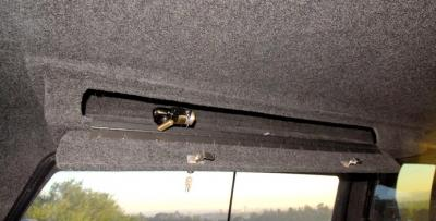 Locking Overhead Storage Box Mobile Living Truck And