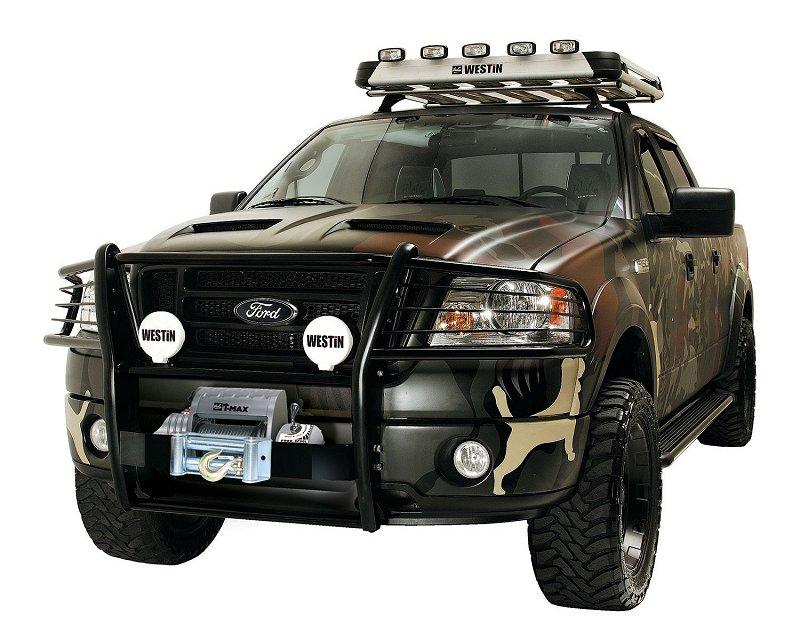 Westin Sportsman Grille Guard Mobile Living Truck And